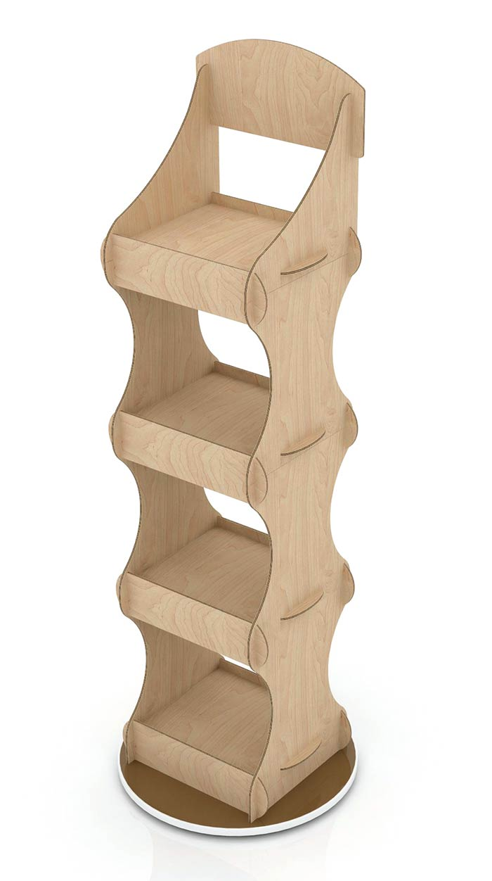 plywood-floor-stand